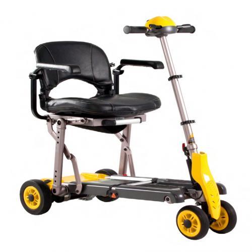 BAG – ruote anteriori gemellari, per una migliore manovrabilità, manubrio telescopico e regolabile in inclinazione, batterie a litio.